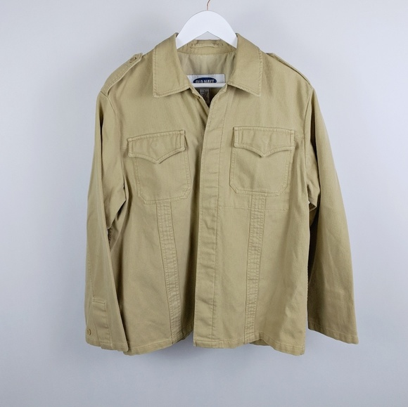 Old Navy Other - Old Navy Men's tan rugged army jacket